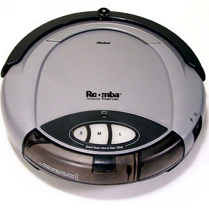 An Actual Robot (iRobot Roomba version) 104
