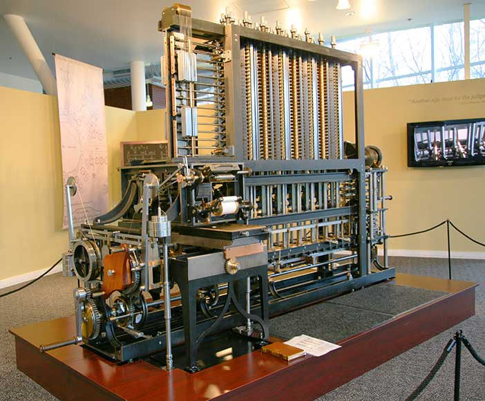 Charles Babbage (1791-1871) designed the first automatic computing engine. He invented computers but failed to build them. The first complete Babbage Engine was completed in London in 2002, 153 years