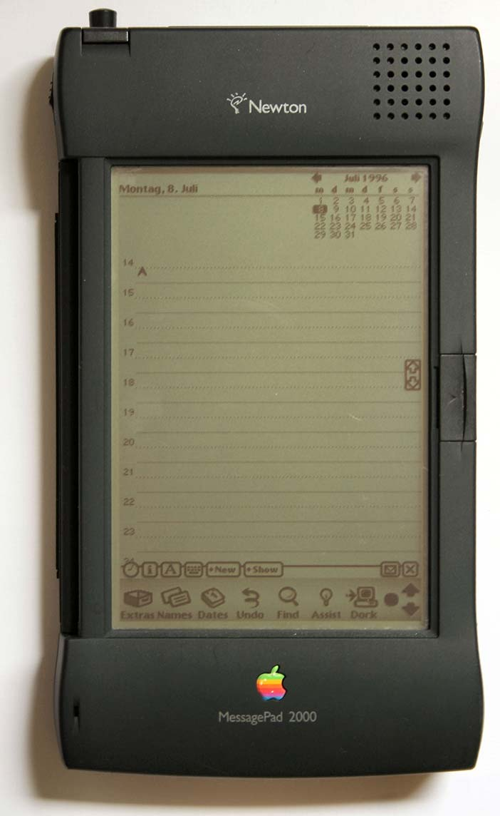 Sculley introduced the Newton PDA in 1992
