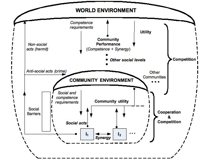 The social environment model