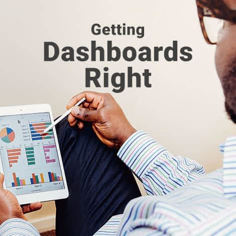 Information Visualization: Getting Dashboards Right