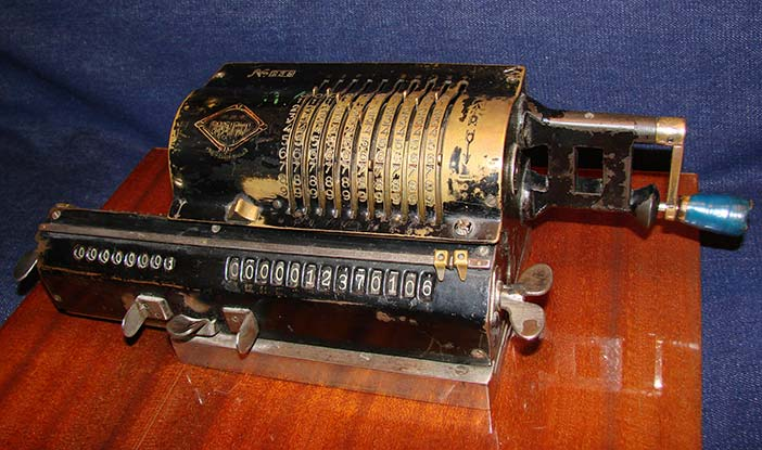 Soviet-produced calculator from the Soviet Calculators Collection