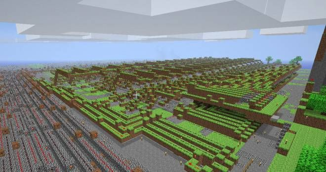 Arithmetic Logic Unit built with 鈥渞edstone鈥� in an immersive play space using the Minecraft game engine