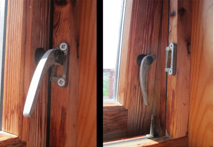An intuitive everyday design: Window lock.