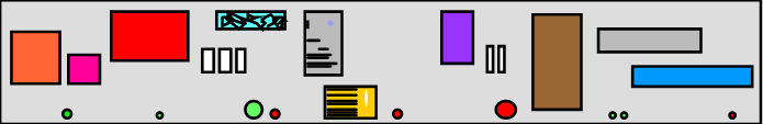 An information space containing documents, email, etc.
