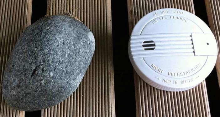 In order to know how well a context detector works, you need to know the recognition performance for each context. In comparison to an actual fire alarm, you most likely agree that a stone will not wo