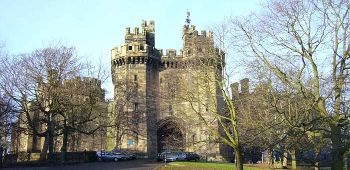 Lancaster castle is one of the locations that was featured in the GUIDE tourist system.