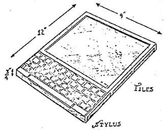 Alan Kay's Dynabook: 'a personal computer for children of all ages' (Kay 1972)