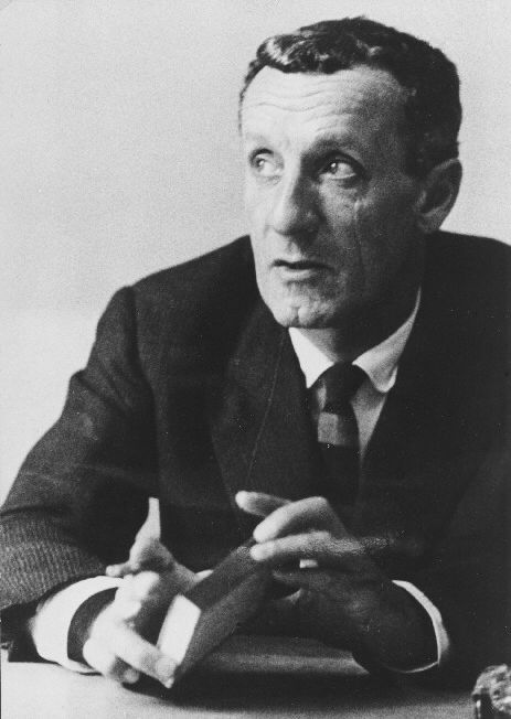 The French philosopher Maurice Merleau-Ponty (1908-1961) who affirmed the body as the centre of human cognition