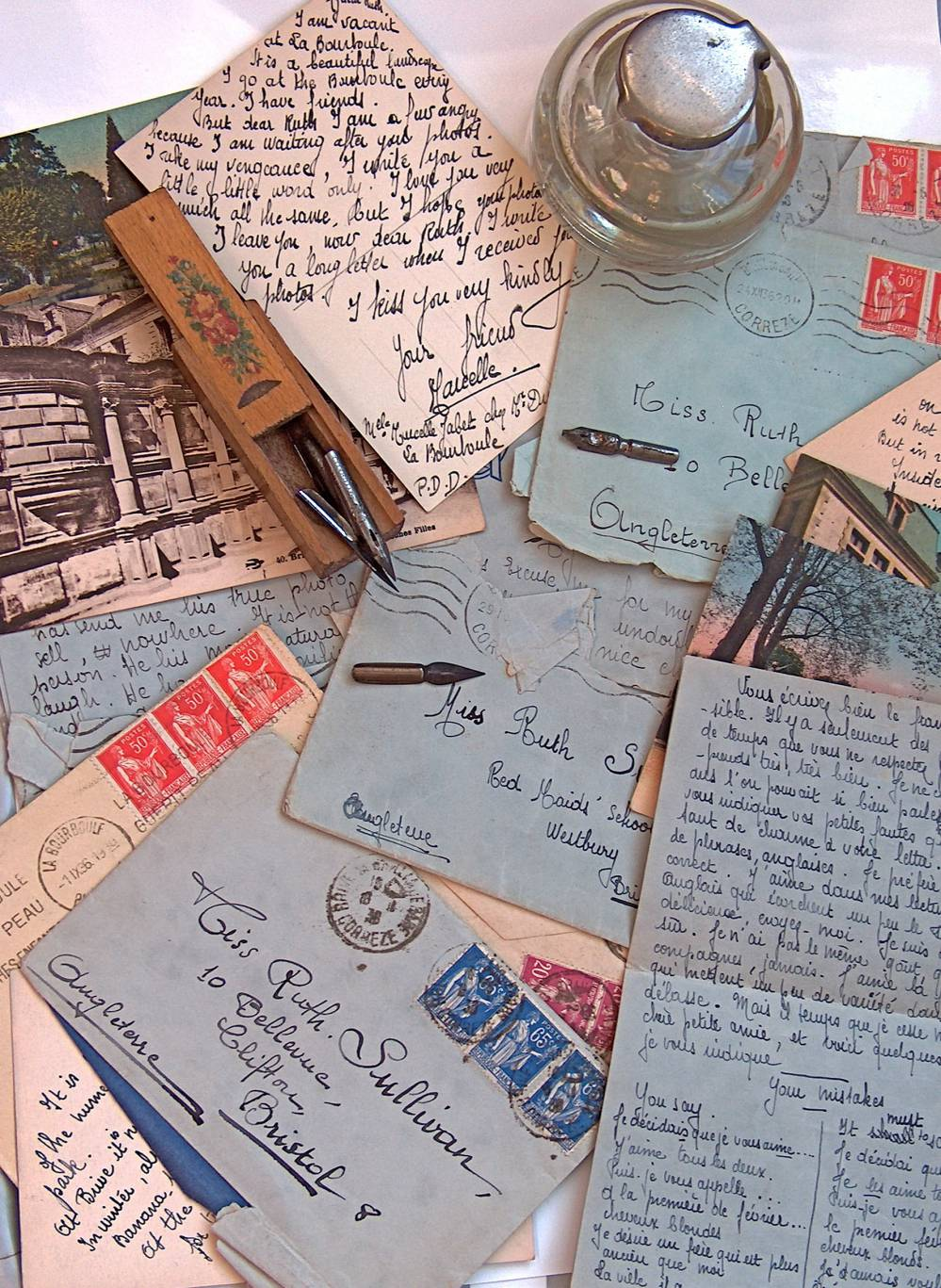 Letters to an English schoolgirl