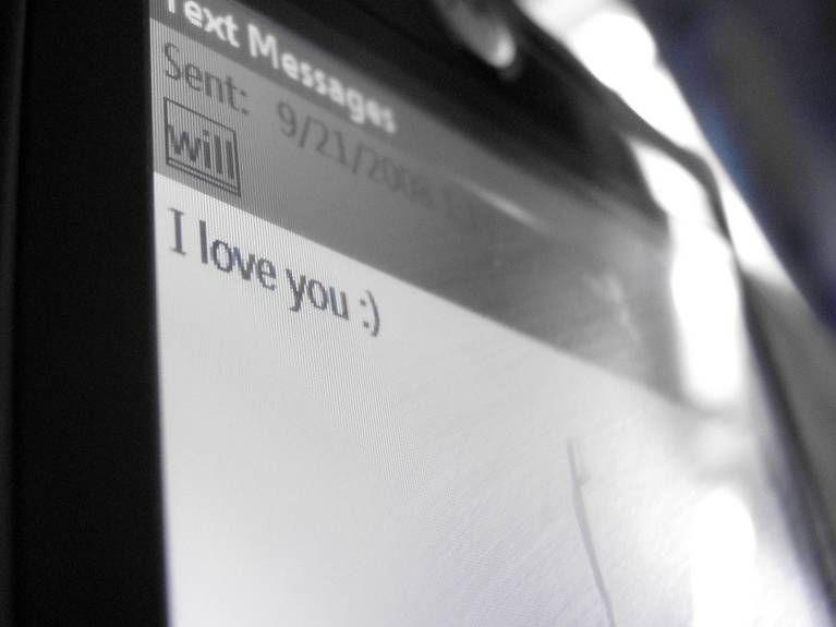 A sweet 'I love you'