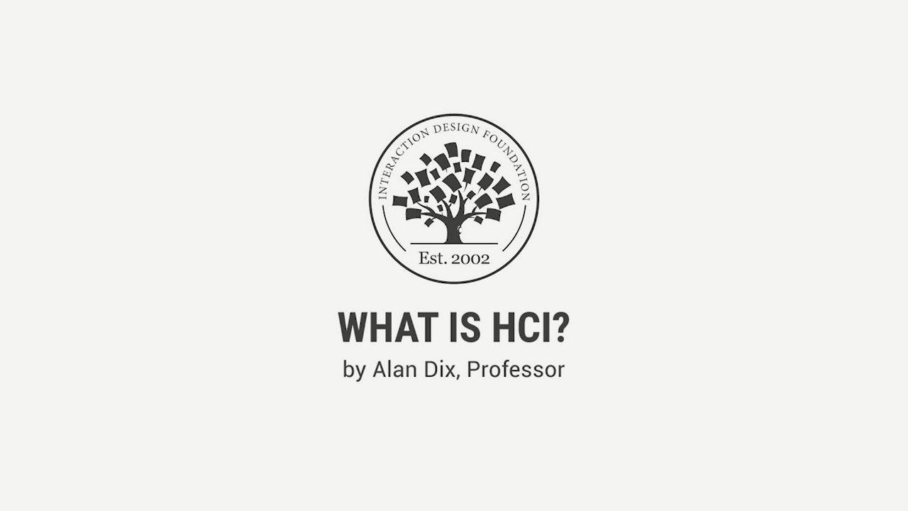 What is Human-Computer Interaction (HCI)? | Interaction