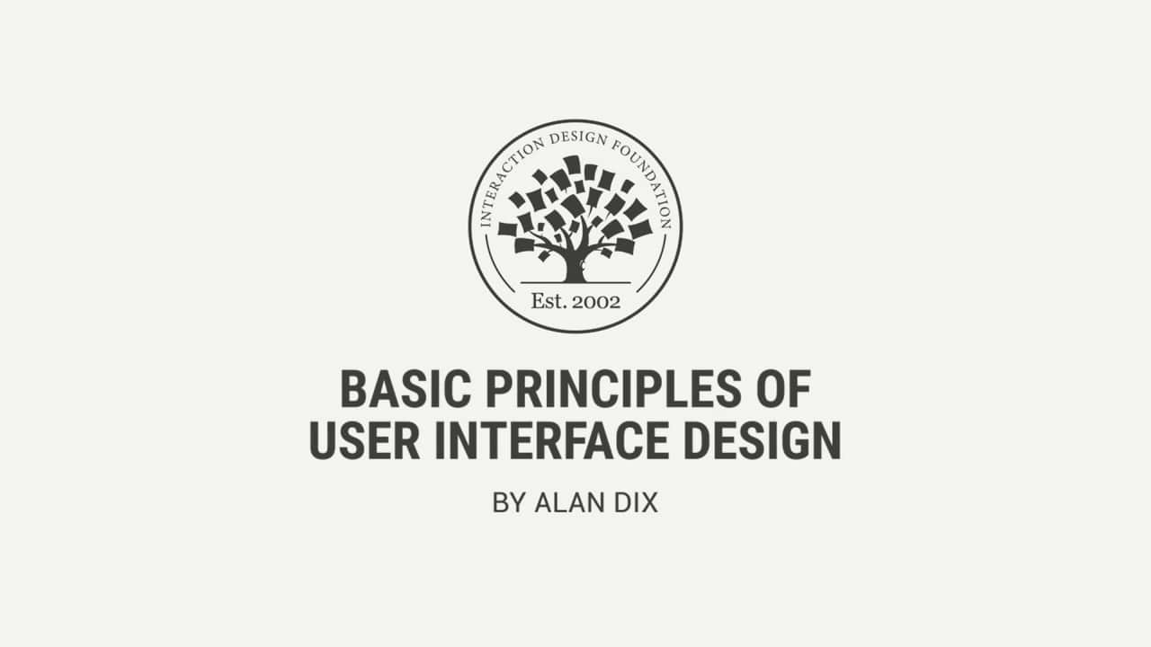 What Is User Interface Design Interaction Design Foundation