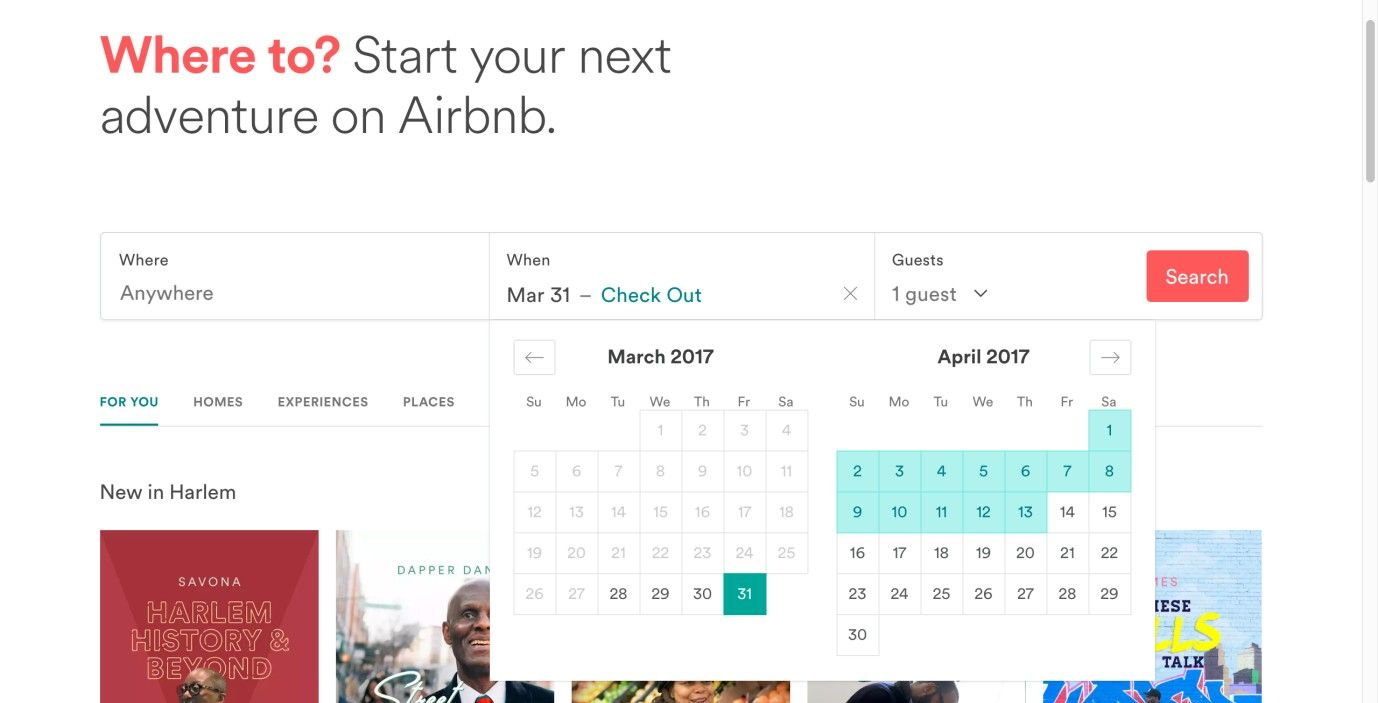 Speed up the User's Process by Adding an Event Calendar