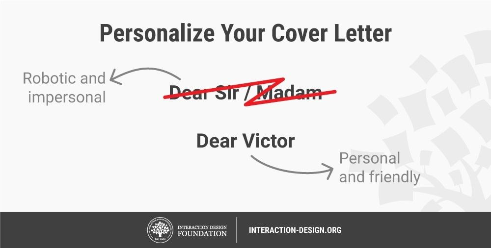 What Is Ux Cover Letters Interaction Design Foundation