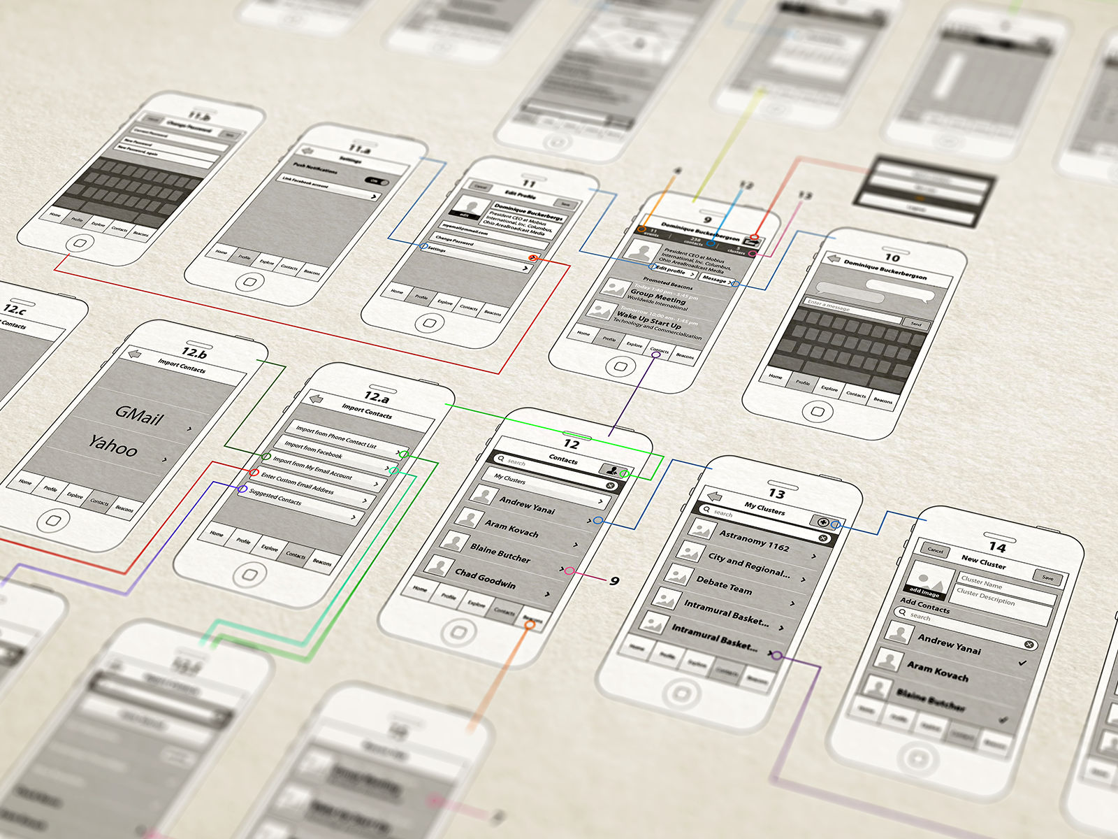 Beautiful 5 Great Free To Use Wireframe Tools