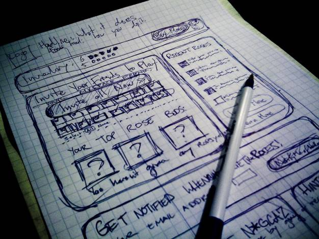 UX Basics and the Entrepreneurial – Testing Solutions – Sketches
