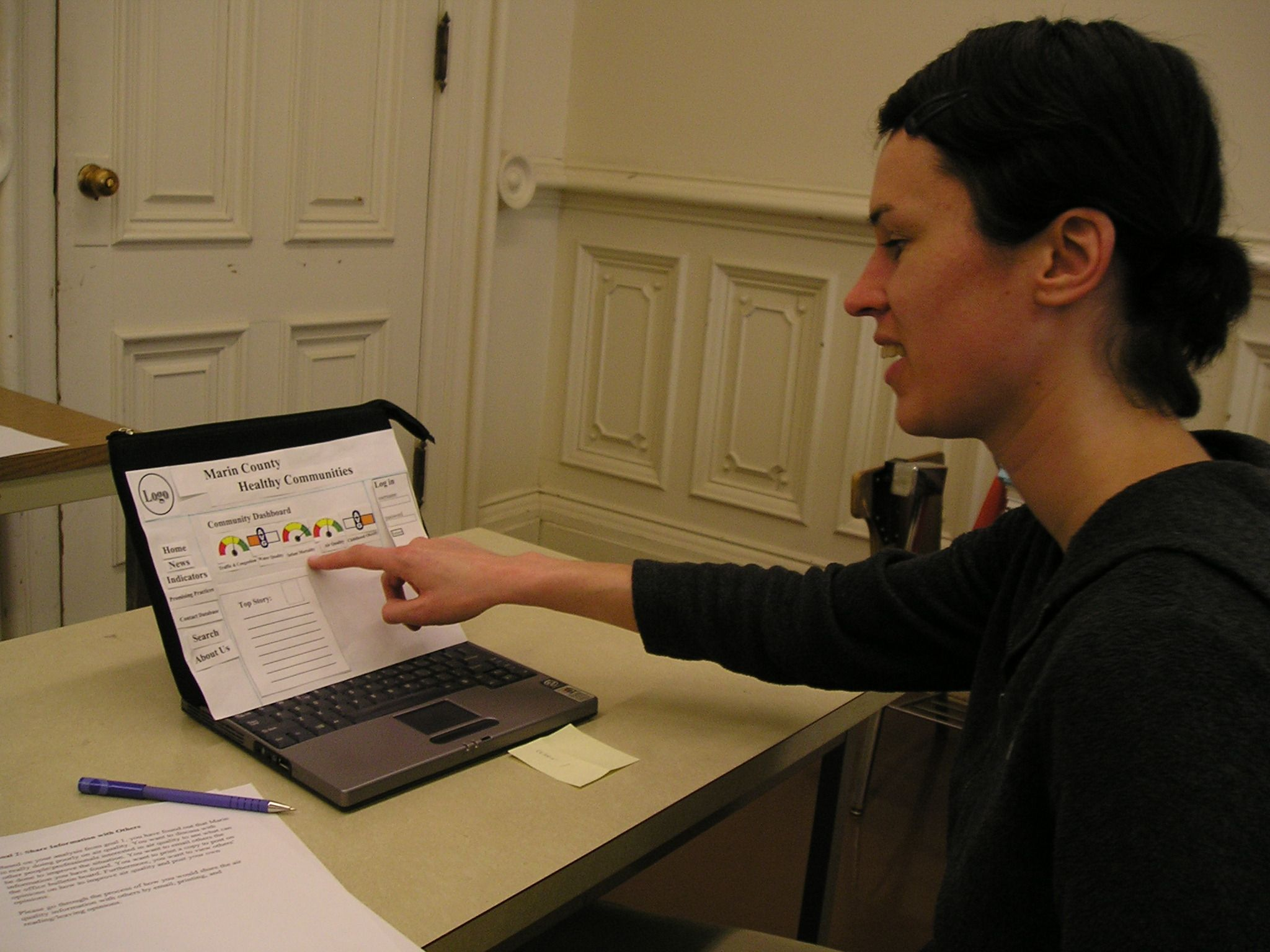 UX Research Communication – Informal Usability Tests