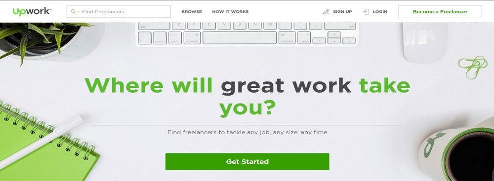 How to Get Started on Upwork, Guru or Freelancer
