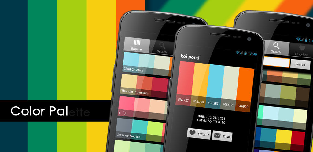 5 Awesome Colour Palette Android Apps For Designers