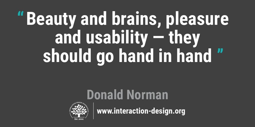 Beauty and brains, pleasure and usability — they should go hand in hand.