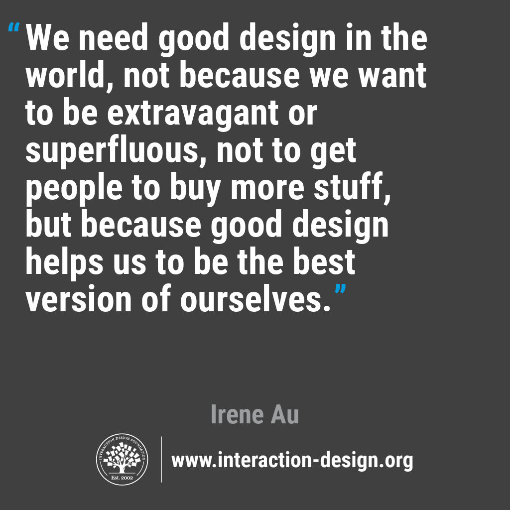 the daily design quote interaction design foundation