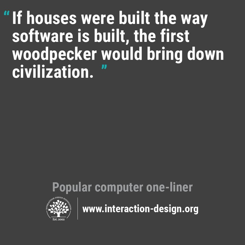 Foundation Quotes The Daily Design Quote  Interaction Design Foundation