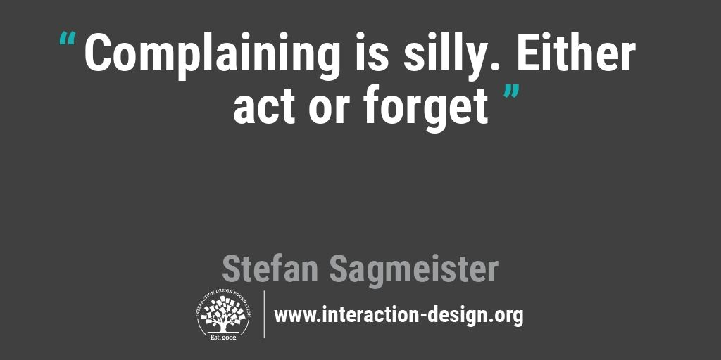 Design Quote Captivating The Daily Design Quote  Interaction Design Foundation