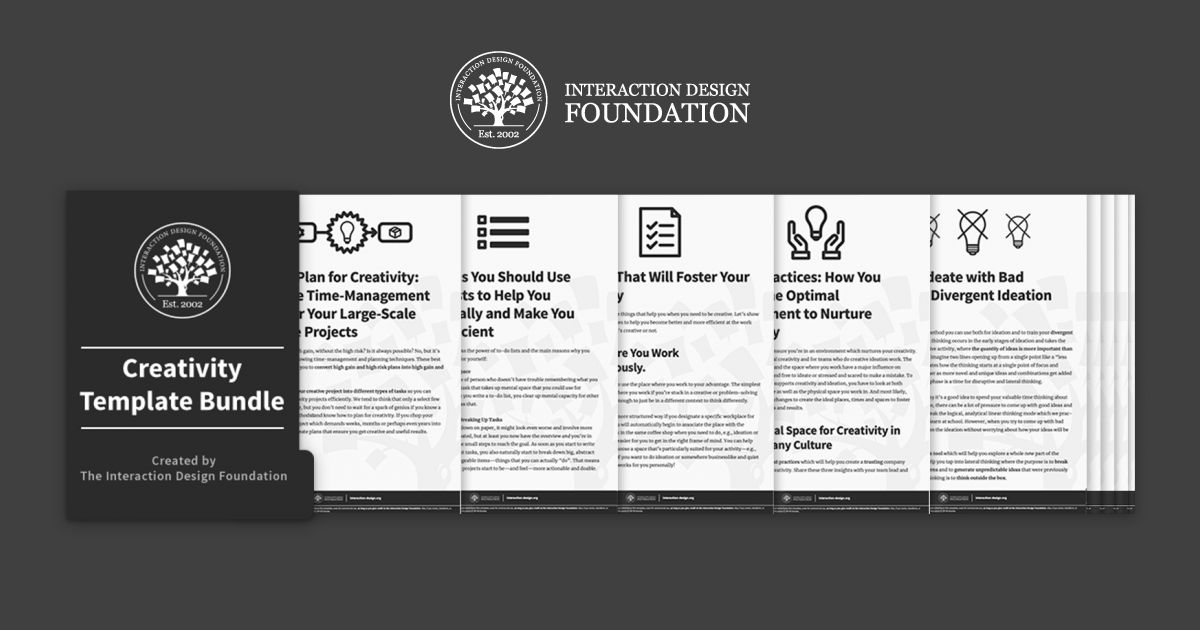 Bundle of 15 Creativity templates