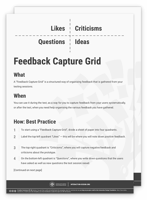Test Your Prototypes: How to Gather Feedback and Maximise
