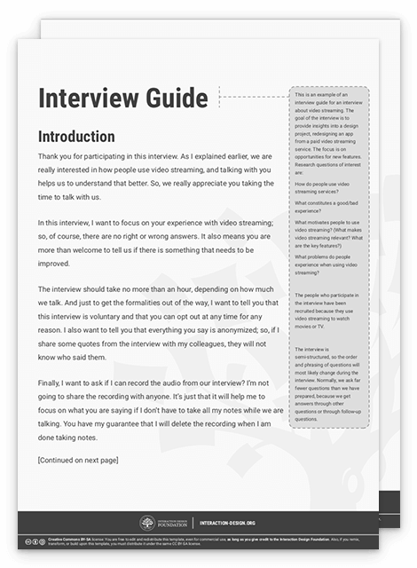 How to Prepare for a User Interview and Ask the Right Questions ...